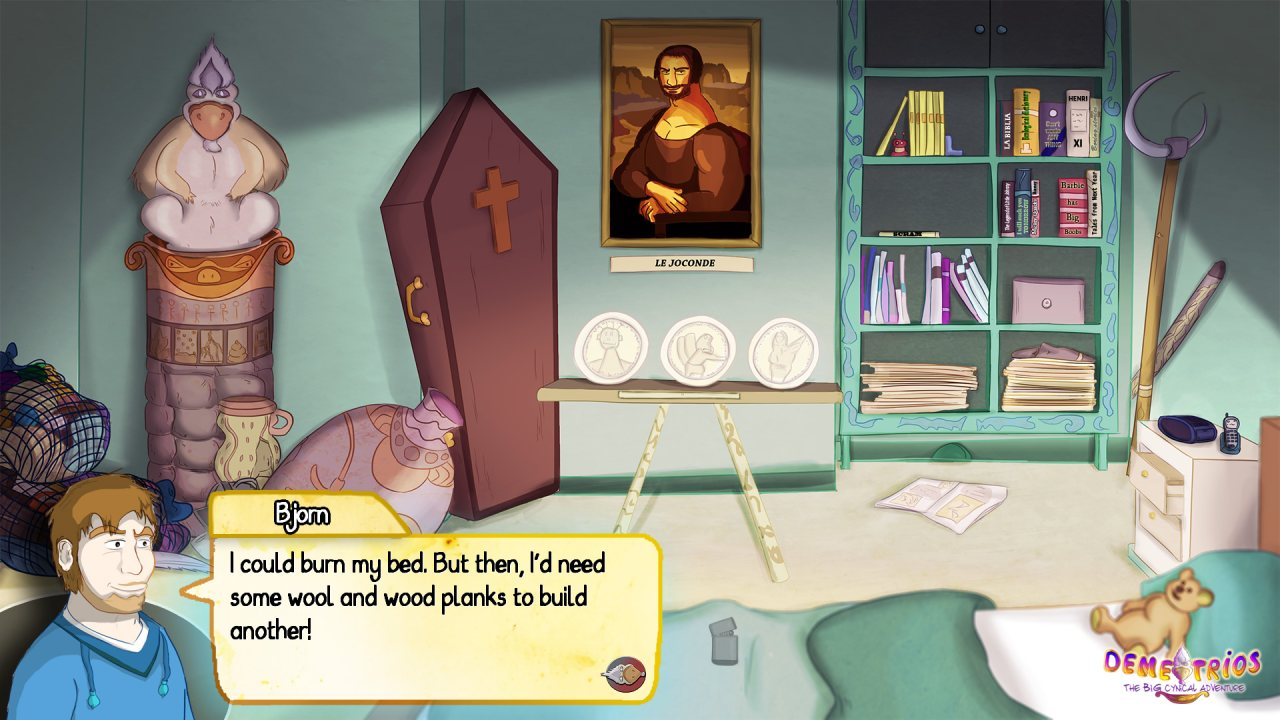 Demetrios - The BIG Cynical Adventure (GL)