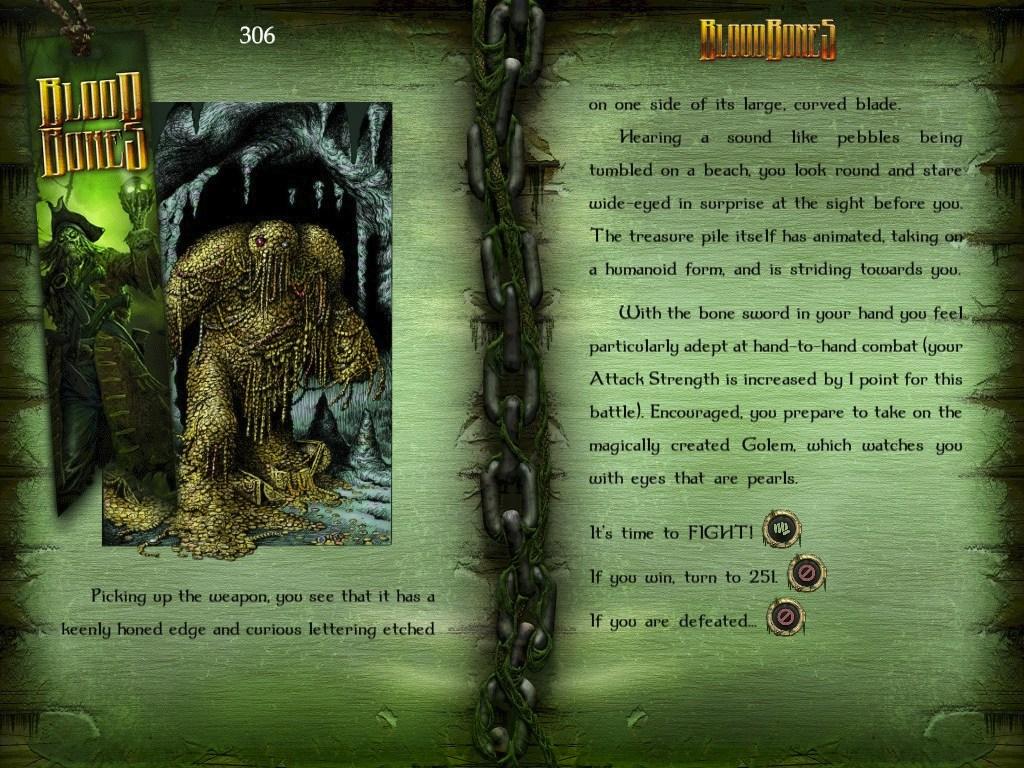 Fighting Fantasy: Bloodbones
