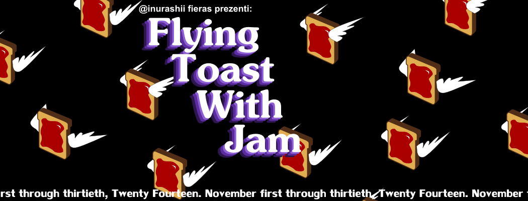Flying Toast With Jam