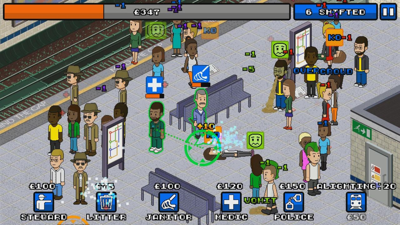 Overcrowd: A Commute 'Em Up (GL)