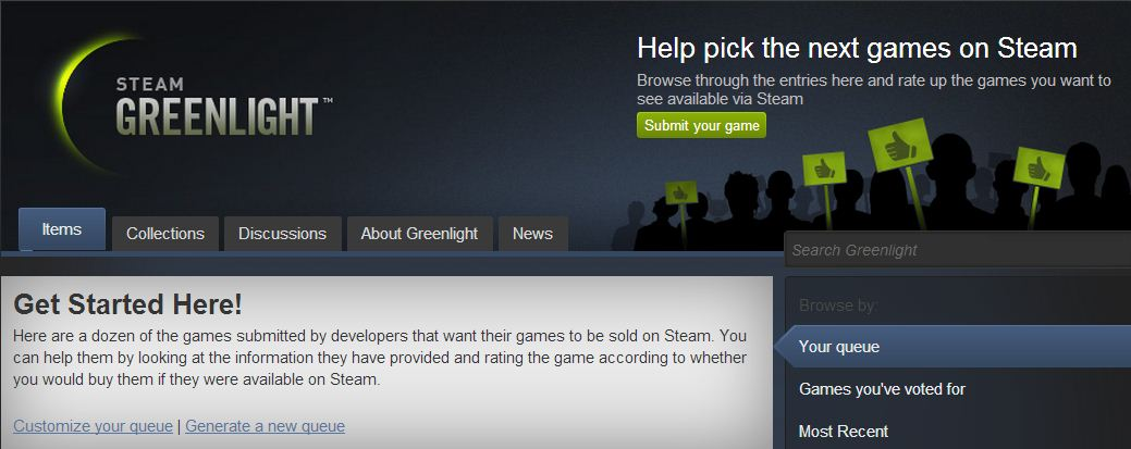 Steam Greenlight WIU
