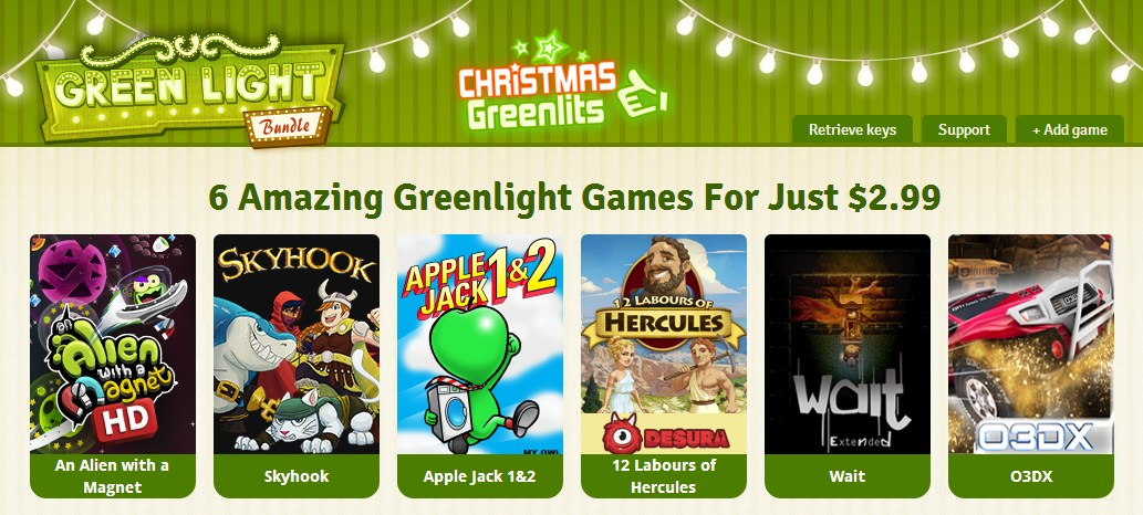 the green light bundle christmas greenlits