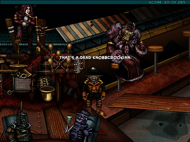 The Knobbly Crook: Chapter I - The Horse You Sailed In On (GL)