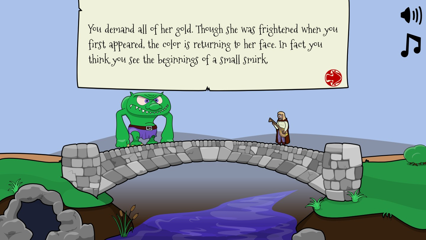 Troll Bridge (AdventureJam)