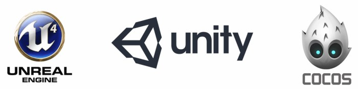 visual studio unity unreal engine cocos2d