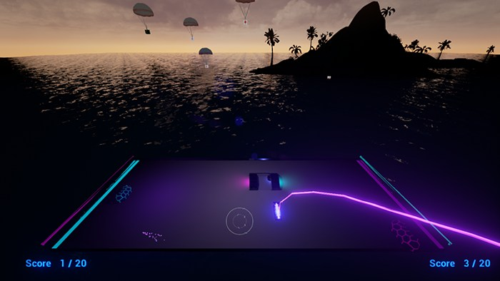 VR Pong (GL)